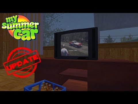 RALLY BROADCAST TO TV My Summer Car Update 18