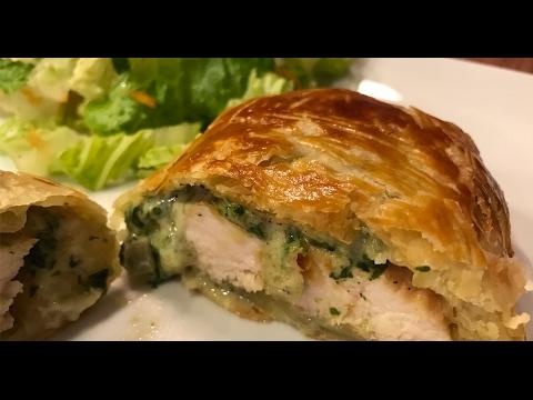 poulet-wellington-crémeux-aux-champignons-et-épinards---jour-de-triche