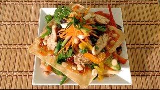 Grilled Chicken Luau Salad Recipe-how To Make The Cheesecake Factory Luau Salad-hawaiian Luau Salad