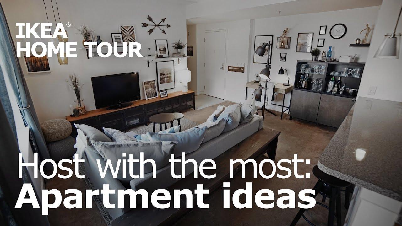 A Creative & Entertaining Living Room Makeover - IKEA Home Tour 2301 ...