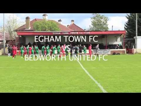 Egham Town vs Bedworth United highlights 25th April 2015