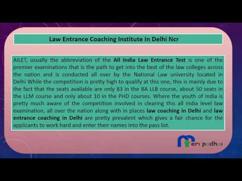 Law Entrance Coaching In Delhi | Call - 1800-1230-133