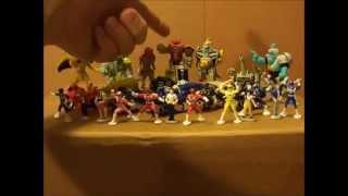 Mighty Morphin Power Rangers Micro Machine Sets