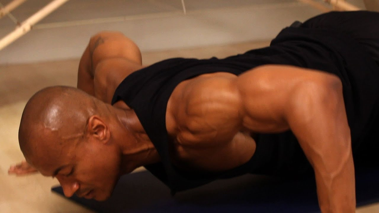 how to do a wide grip push-up | chest workout - youtube