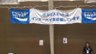 29日 バスケットボール女子 福島市西部体育館 県立松江商業×県立中津北 2回戦
