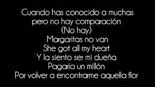 Santana feat. Romeo Santos - Margarita (Letra/Lyrics)
