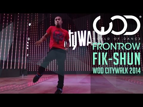 Fik-Shun | World of Dance Live | FRONTROW | Citywalk 2014 #WODLIVE '14