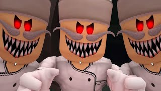 Escape Papa Pizza's Pizzeria! (SCARY OBBY) FIRST PERSON & ALL JUMPSCARES