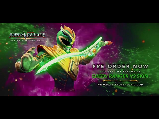 Power Rangers: Battle for the Grid - Teaser de anuncio