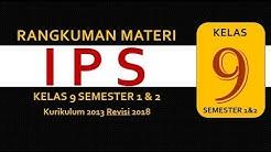 IPS Kelas 9 smp Kurikulum 2013 Semester 1 dan 2