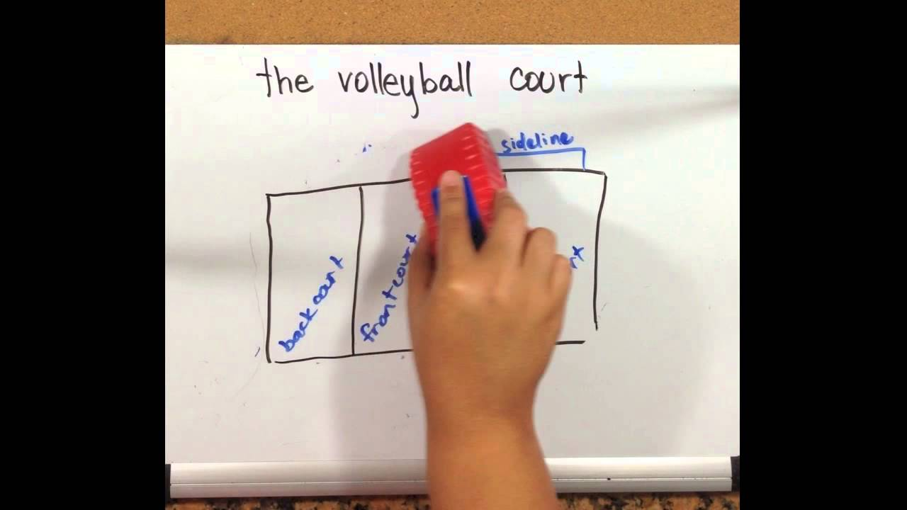 Draw Me Volleyball: The Court