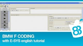 bmw f coding with e sys english tutorial