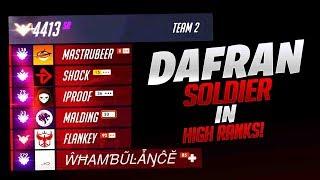Dafran Soldier 76 In High Ranks! - Overwatch