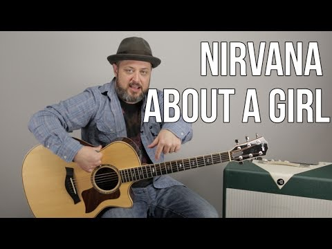 "How to Play ""About a Girl"" by Nirvana on Guitar - Easy Acoustic Songs"
