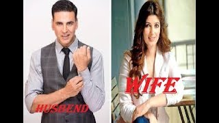 Bollywood actor's wife and husband
