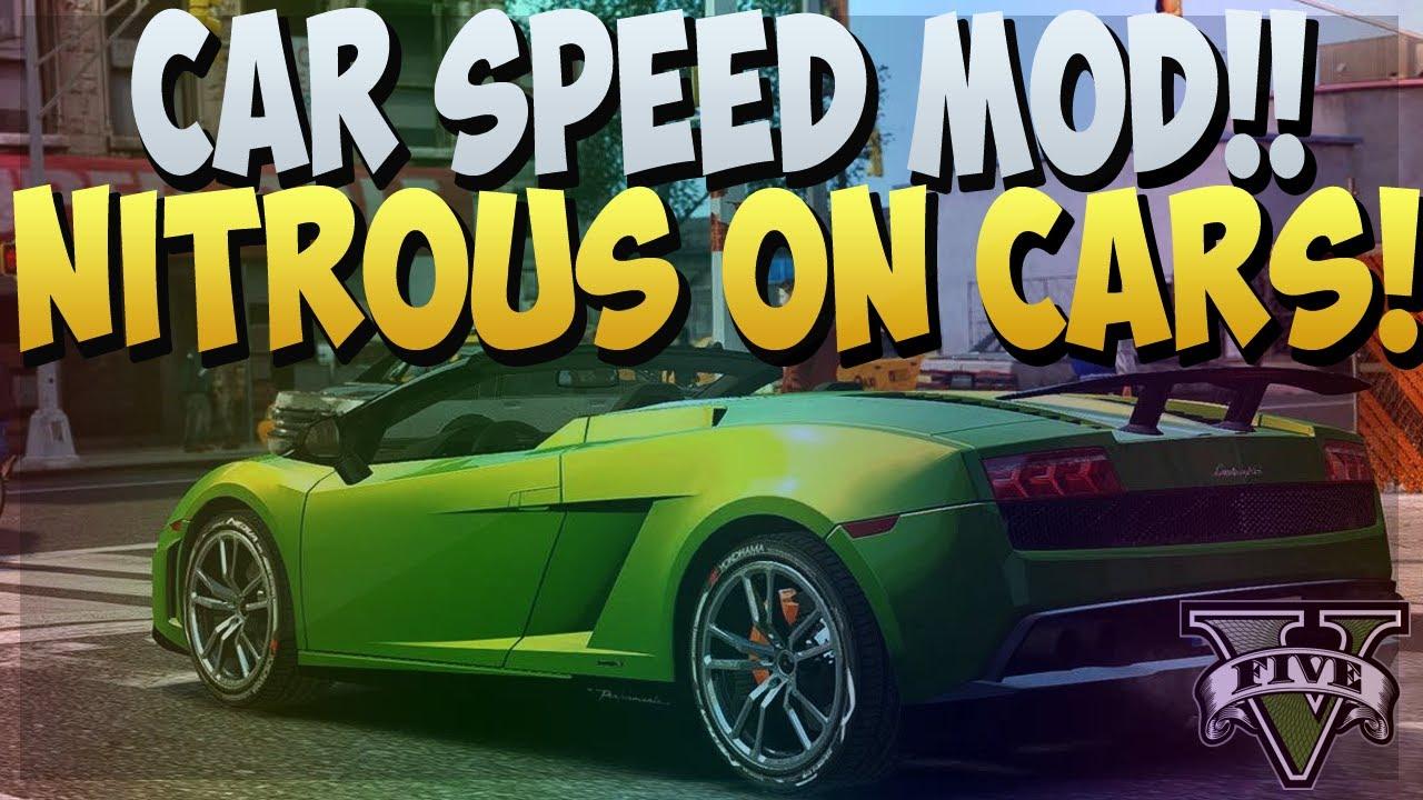 Nos Car: GTA 5 ONLINE : NITROUS ON CARS! NITRO BOOST MOD ON