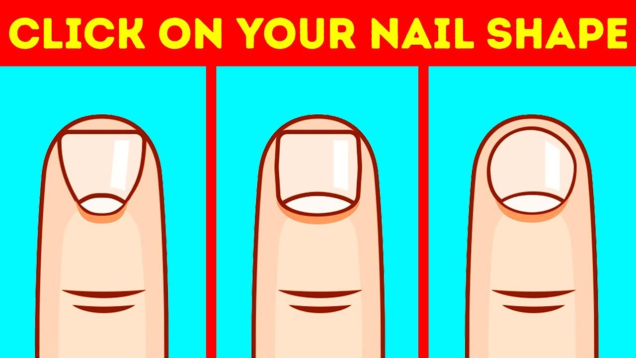 Your Nail Shape Reveals Everything About Your Personality - YouTube