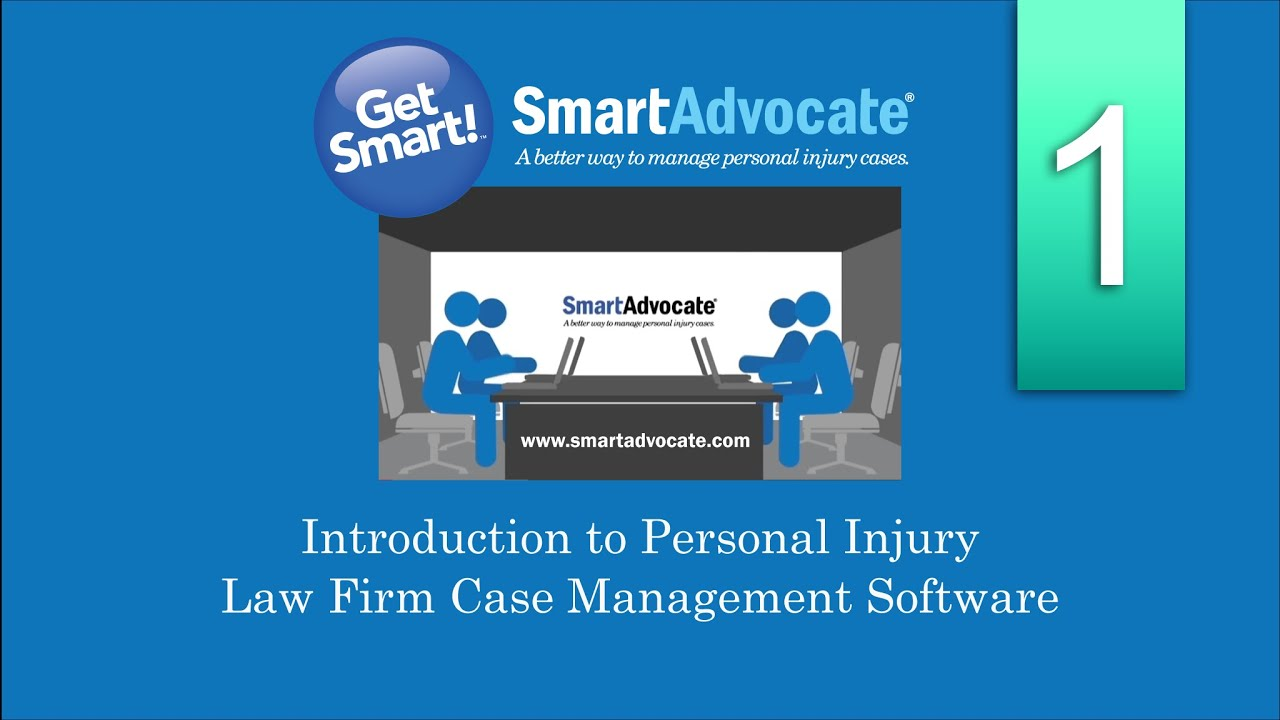 Smartadvocates Introduction To Personal Injury Law Firm Case Management Software Youtube