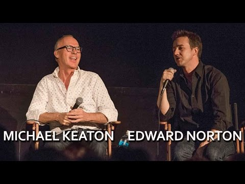 Michael Keaton and Edward Norton on Acting