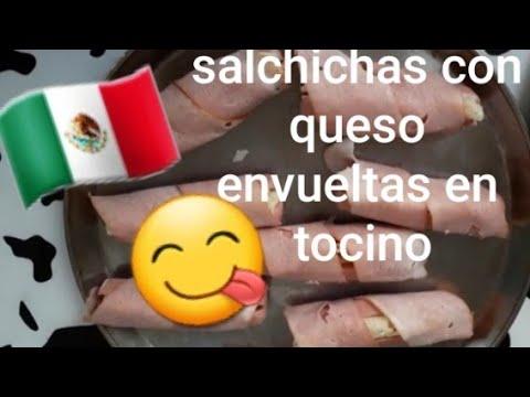 🇲🇽SALCHICHAS CON QUESO Y TOCINO, COMIDA MEXICANA🇲🇽 von YouTube · Dauer:  7 Minuten 26 Sekunden