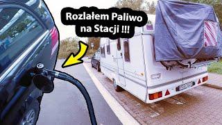 PECH, Rozlałem Paliwo na Stacji !!! - Testuję nowy Wózek do Wody i Pokrowiec na Rowery (Vlog #292)
