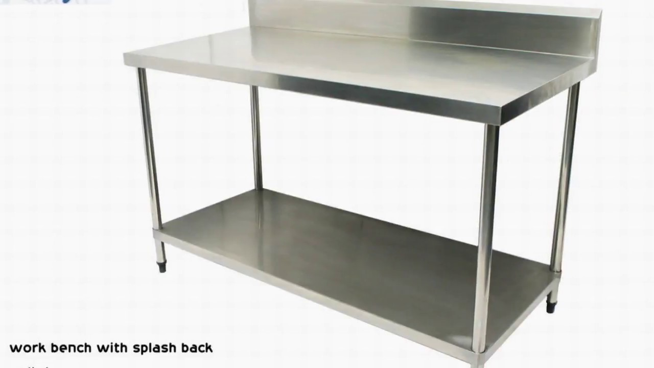 Stainless Steel Work Bench Table Restaurant
