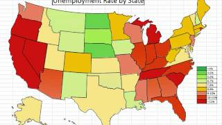 Animated Chart: State Unemployment Slideshow April 2012