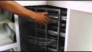 Corner Utility Basket - 270⁰ Degree Revolving Basket