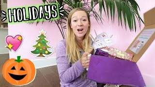The Holidays Are Coming!! AlishaMarieVlogs
