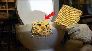 요즘 핫한 라면으로 부서진 물건 고치기. 이게 진짜 가능할까?