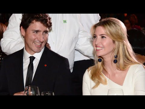 Ivanka Trump Taking Heat for Looking Too Chummy With Canadian Prime Minister