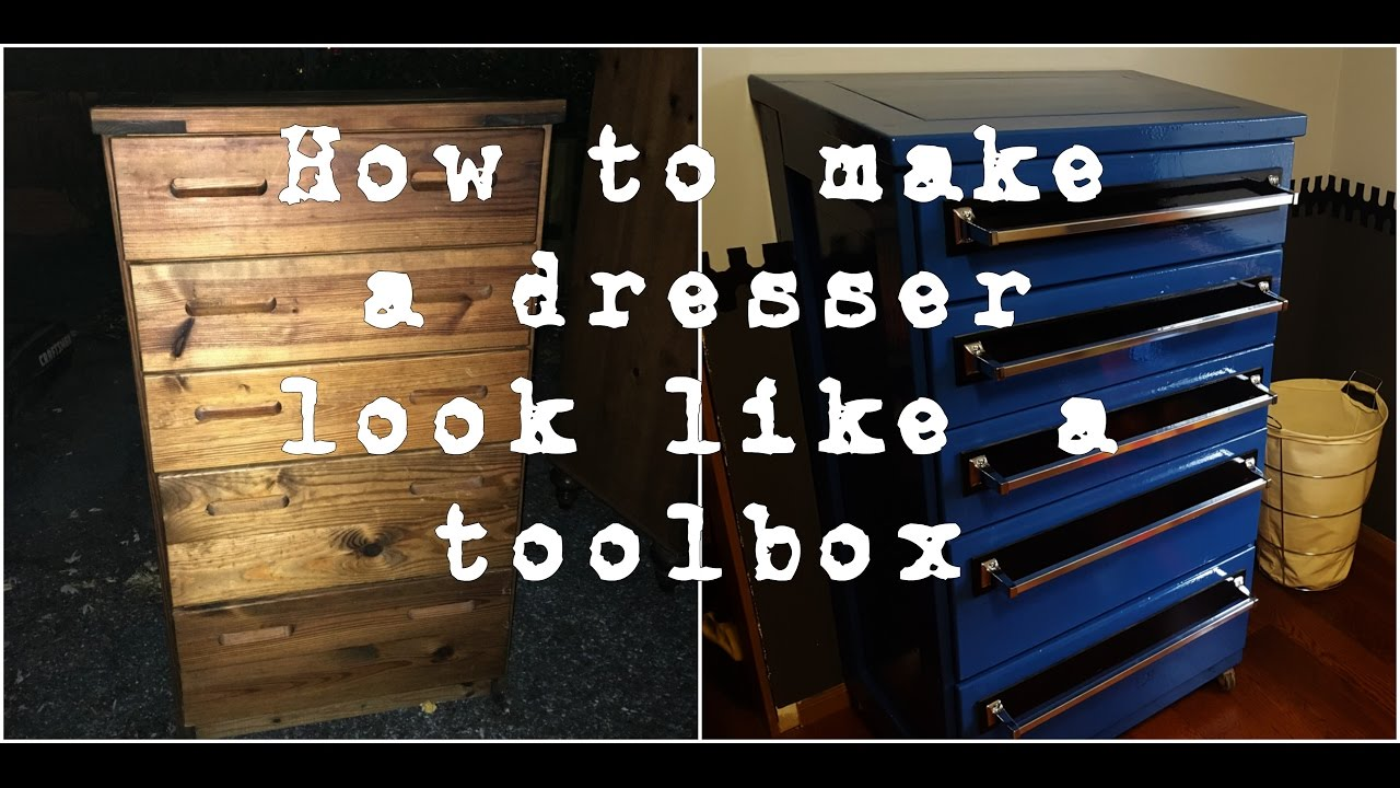 Toolbox Dresser Build Youtube