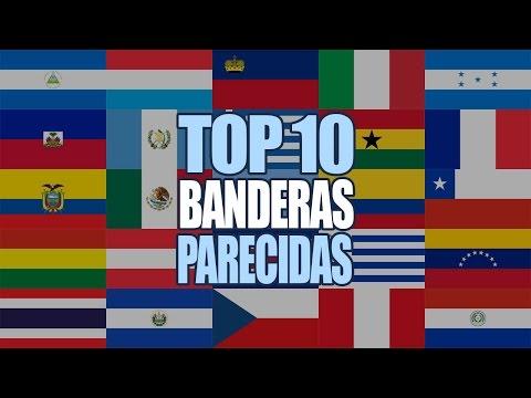 Banderas Más Parecidas Del Mundo #1