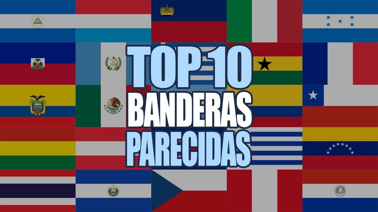 Banderas más Parecidas del Mundo #1 - YouTube