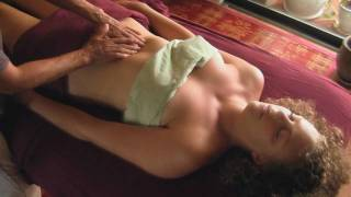 Lymphatic Body Massage Therapy Techniques, How to on Chest and Tummy thumbnail