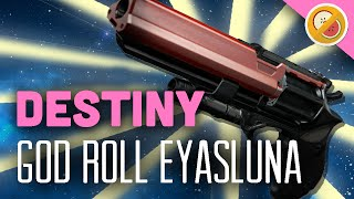 DESTINY Eyasluna God Roll | Gameplay Review (The Taken King)