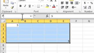 Excel 2010: How To Use Name Ranges - Tutorial Tips and Tricks