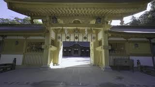 4k 2017 愛媛県・今治市・大山祇神社を歩く(Oyamazumi-Jinja Shirne in Imabari City Ehime Prefecture Japan)