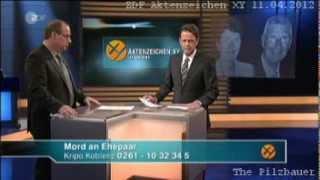 Aktenzeichen XY... ungelöst 11.04.2012 live aus München mit Rudi Cerne - April - ZDF