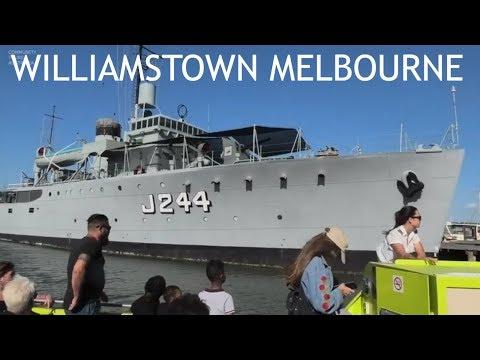 Melbourne Yarra River Cruise To Williamstown Gem Pier - Australia Part 4
