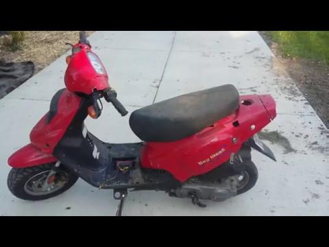 2007 TGB Key West Scooter With 49cc Wildfire Engine Swap