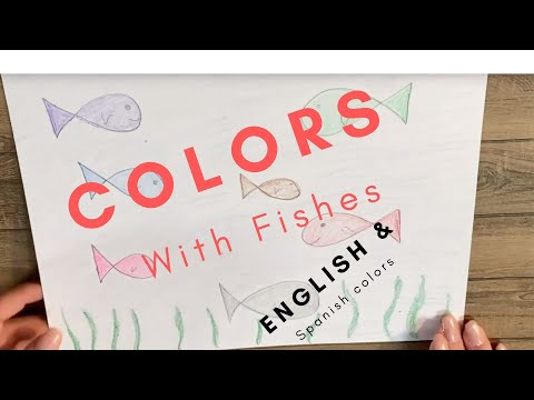 Happy Fish Colors In English And Spanish