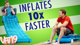 Air Mattress that Inflates in Seconds thumbnail