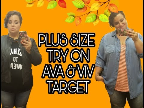 a6a6e4f294 Plus Size Try On : Ava And Viv | Target (Fall) - YT