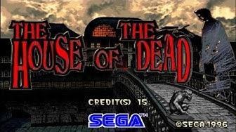 The House Of The Dead - Walkthrough (Arcade)