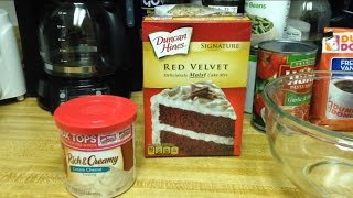 How To Make A Red Velvet Cake From Duncan Hines