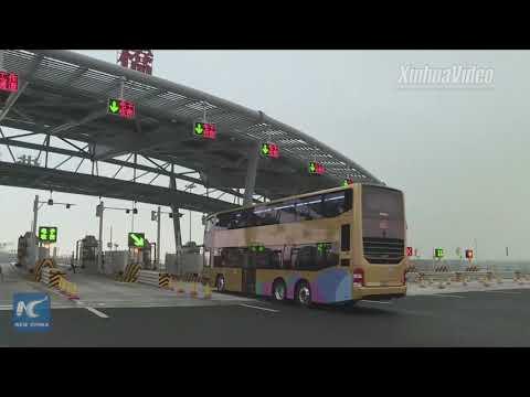 Hong Kong-Zhuhai-Macao Bridge opens to traffic