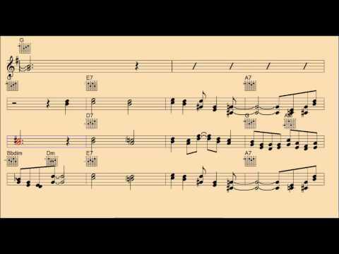 Shine on Harvest Moon-Backing Track/Chords/Lyrics