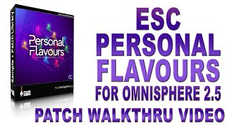 This is the ESC Personal Flavours Library Walkthru!