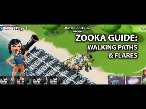 Zooka Guide: Walking Paths & Flares